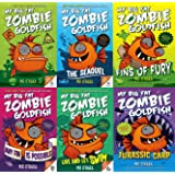 My Big Fat Zombie Goldfish 6 Book Series, The Sequel, Fins of Fury, Any Fin is Possible, Live and Let Swim, Jurassic Carp