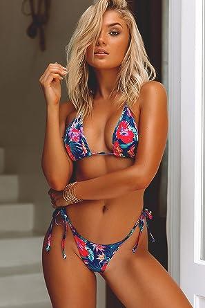 ebb6426555e8a Women s Venice Royal Paradise Mid Rise Classic Bikini Bottoms Small   Clothing