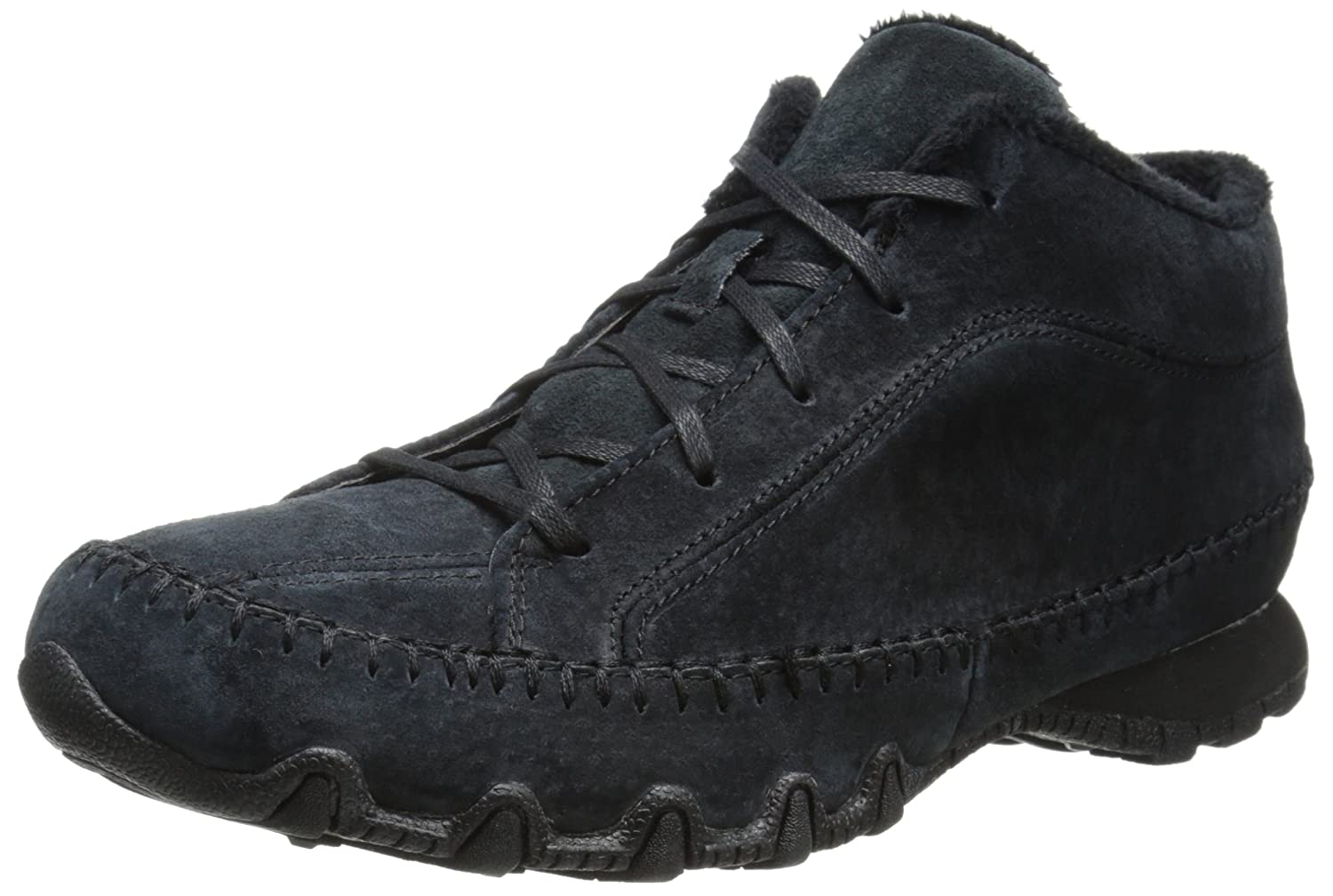 Skechers Bikers-Totem Pole Weit KnAtilde;para;chel Bootie  US 7.5 | UK 4.5 | EU 37.5|Black