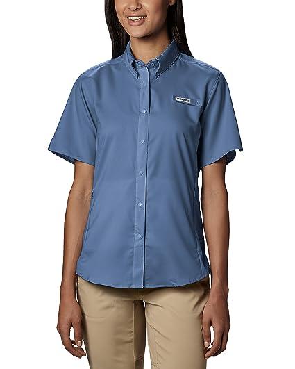 95c616b3541 Amazon.com: Columbia Women's Tamiami II Short Sleeve Shirt, UPF 40 ...