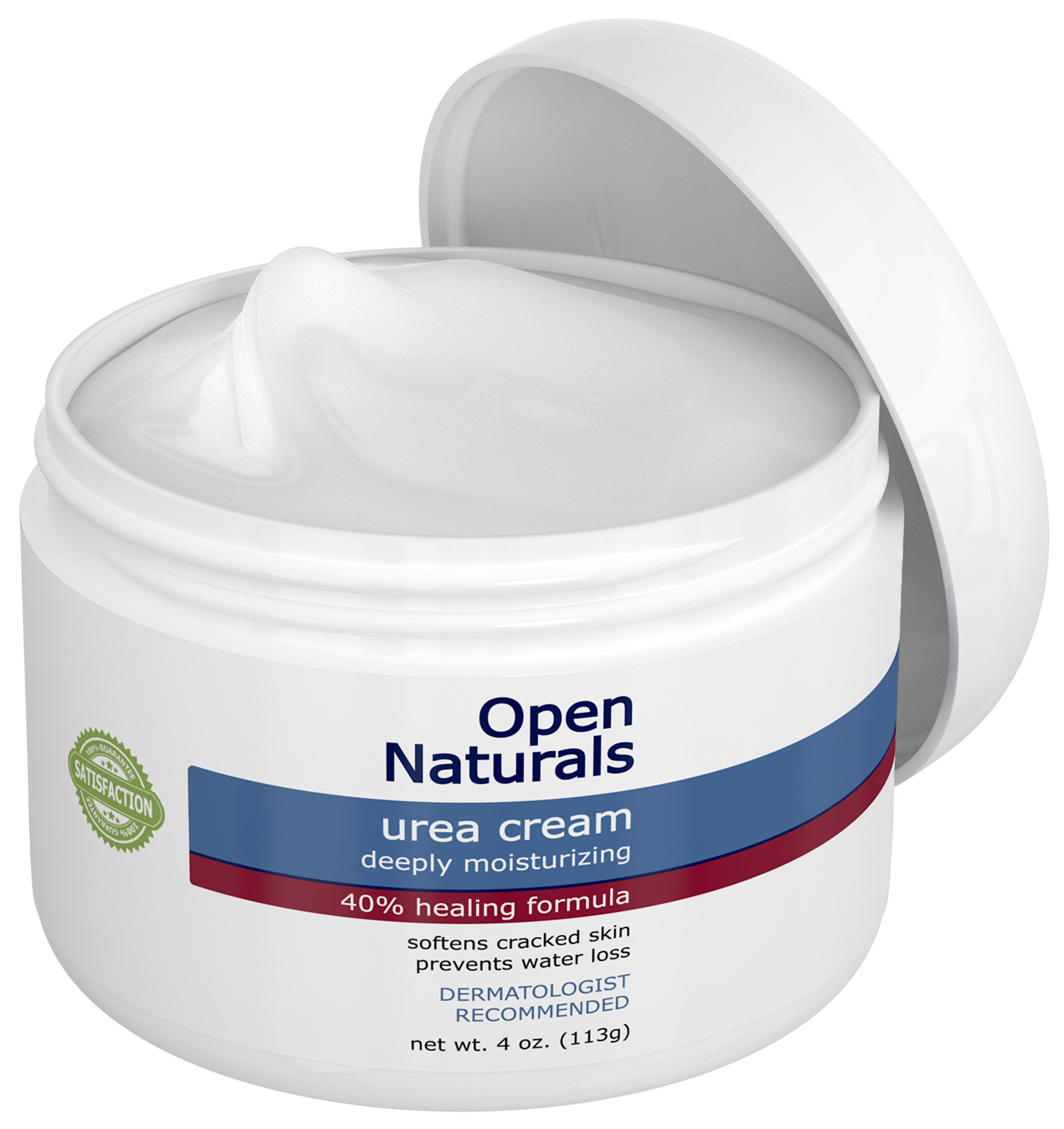 Open Naturals Urea 40% Foot Cream - 4 oz - Premium Callus Remover - Moisturizes and Rehydrates Thick, Cracked, Rough, Dead and Dry Skin - Elbow, Feet - Your Satisfaction or 100% Money Back Guarantee by Open Naturals (Image #7)