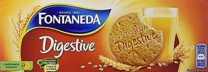 Fontaneda Digestive Galletas de Avena - 400 g: Amazon.es ...