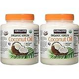 Kirkland Organic Virgin Coconut Oil - 2.38Kg Tub Pack of 2