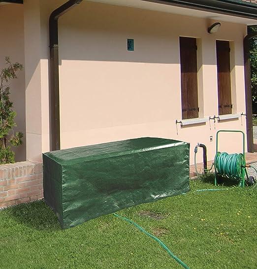 Lona de protección para mesa de exterior, jardín, poliéster, 120 x 90 cm: Amazon.es: Jardín
