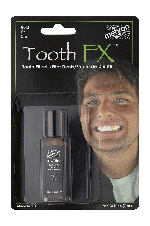 Mehron Makeup Tooth FX (.25 oz) (Nicotine) TFX-N