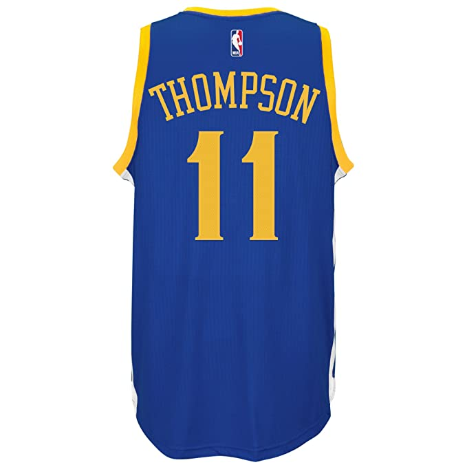 Adidas Klay Thompson Golden State Warriors NBA Swingman Carretera réplica de la Camiseta, Mediano: Amazon.es: Deportes y aire libre