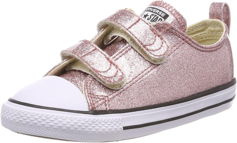 Converse Chuck Taylor All Star 2V Glitter Ox Infant Kids ...