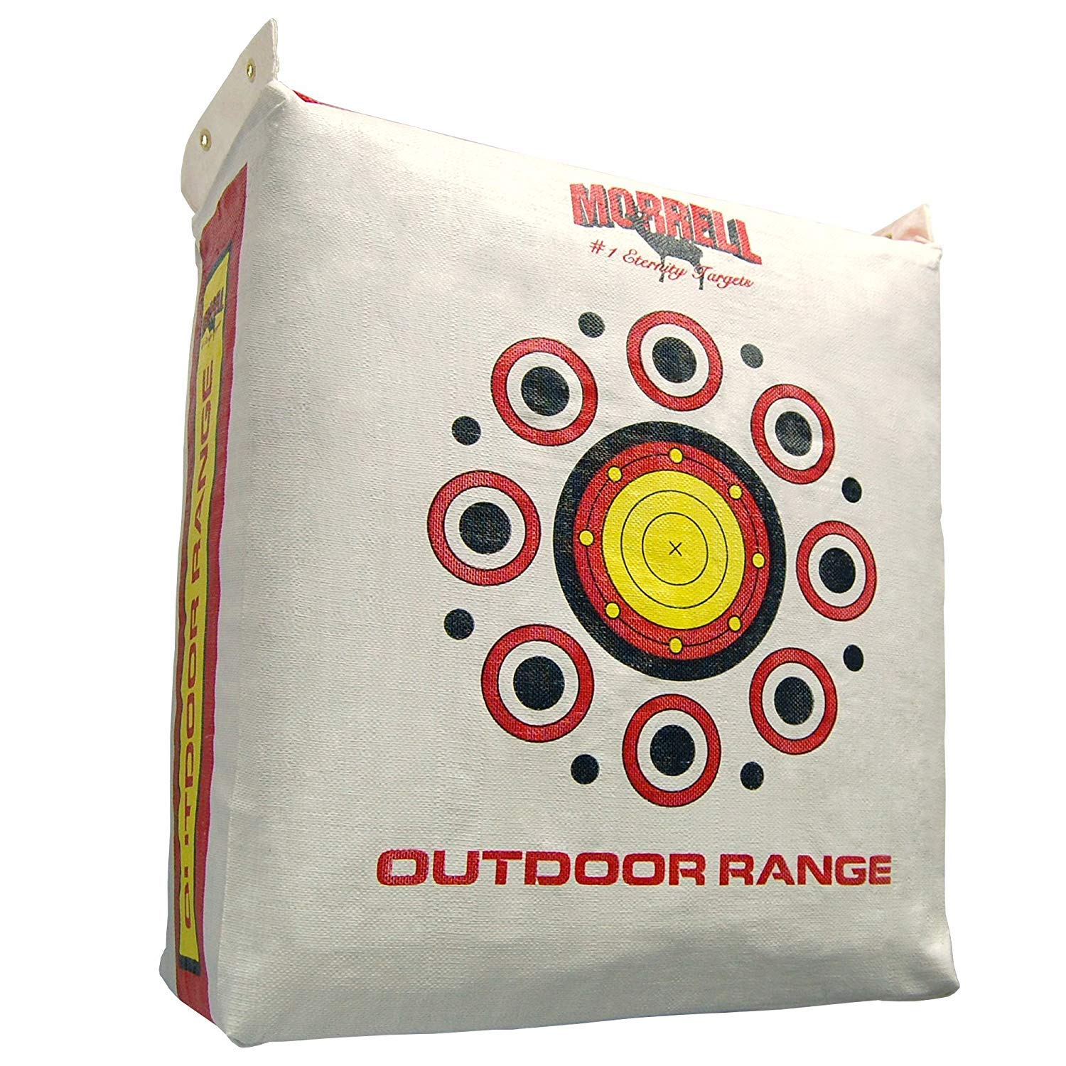Morrell Outdoor Range Field Point Bag Archery Target - 20, 30, 40 and 50+ Yard Shooting Bullseyes (Pack of 2)