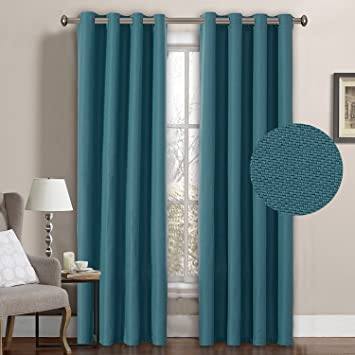 Superieur H.Versailtex Primitive Linen Look Room Darkening Thermal Insulated Living  Room Curtains/Drapes,