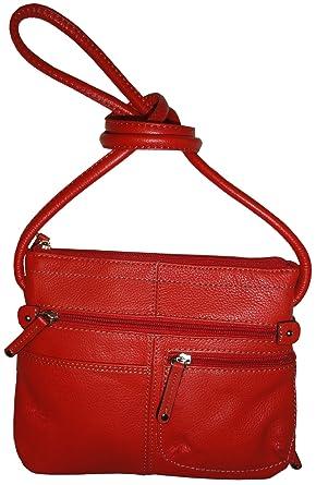16821ea629ec Image Unavailable. Image not available for. Color  Women s Tignanello Purse  Handbag Leather Fab Function Multi ...