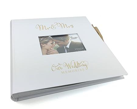 Ukgiftstoreonline Wedding Engagement Scrapbook Guestbook Photo Album