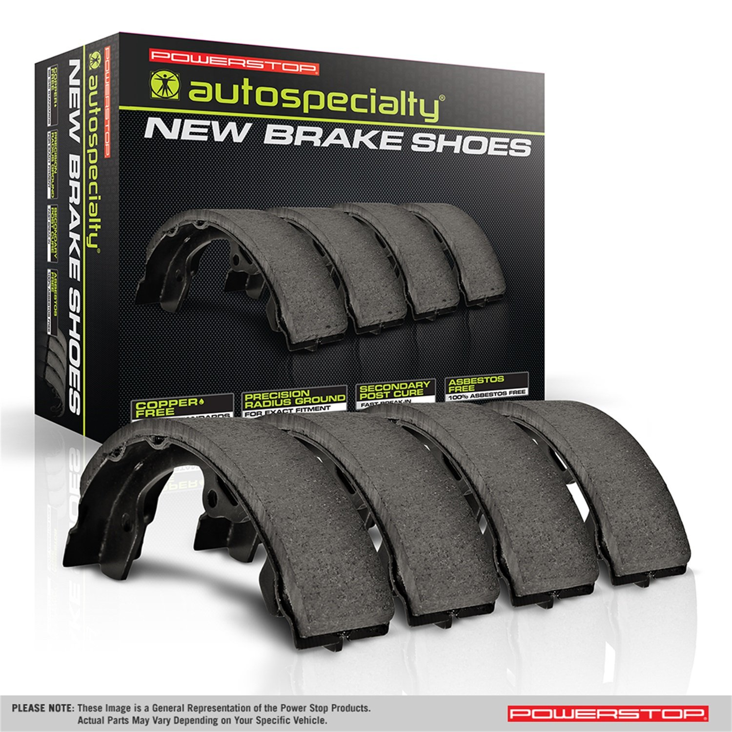 Power Stop B1046L Rear Autospecialty Brake Shoes
