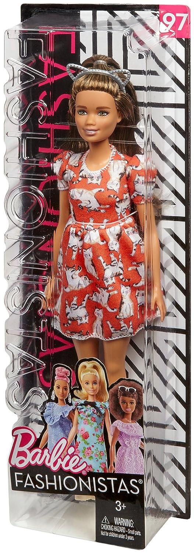 Barbie Fashionistas Bambola Volant Floreali Uno Stile da Collezionare FJF43