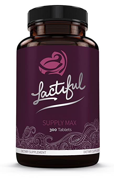 Lactiful Supply Max - World's Strongest Herbal Lactation Supplement for Increasing Breast Milk Supply
