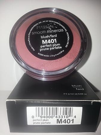 Amazon.com : Avon Smooth Minerals Blush Perfect Plum : Face ...