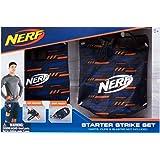Jazwares Nerf Elite Starter Strike Set 11520 beinhaltet Dart Beutel und Hüftholster mit Verstellbarem Gurt aus Hochwertigem Nylonmaterial im Stylischen Nerf Elite Design