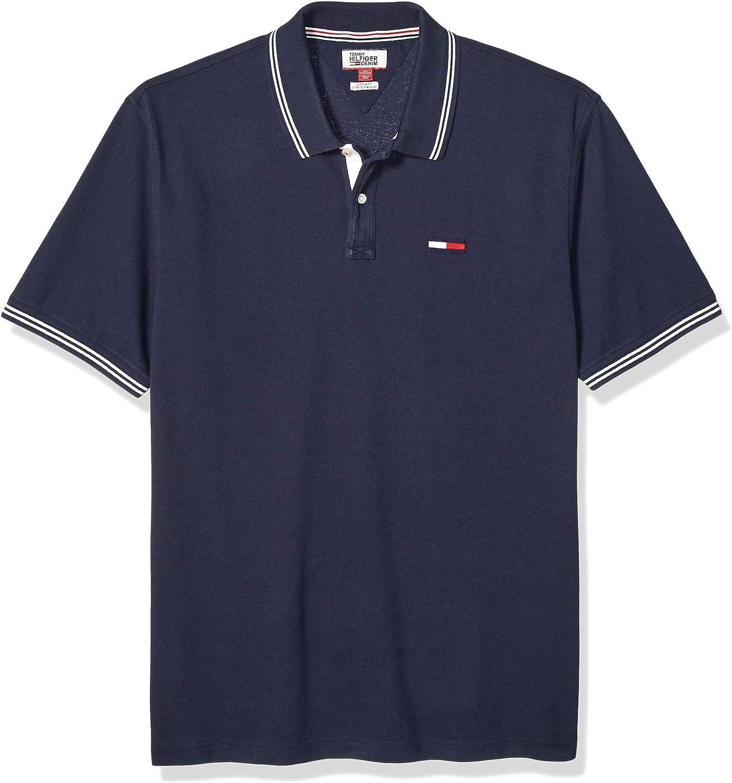 Tommy Hilfiger Mens Big  THD Short Sleeve Polo Shirt