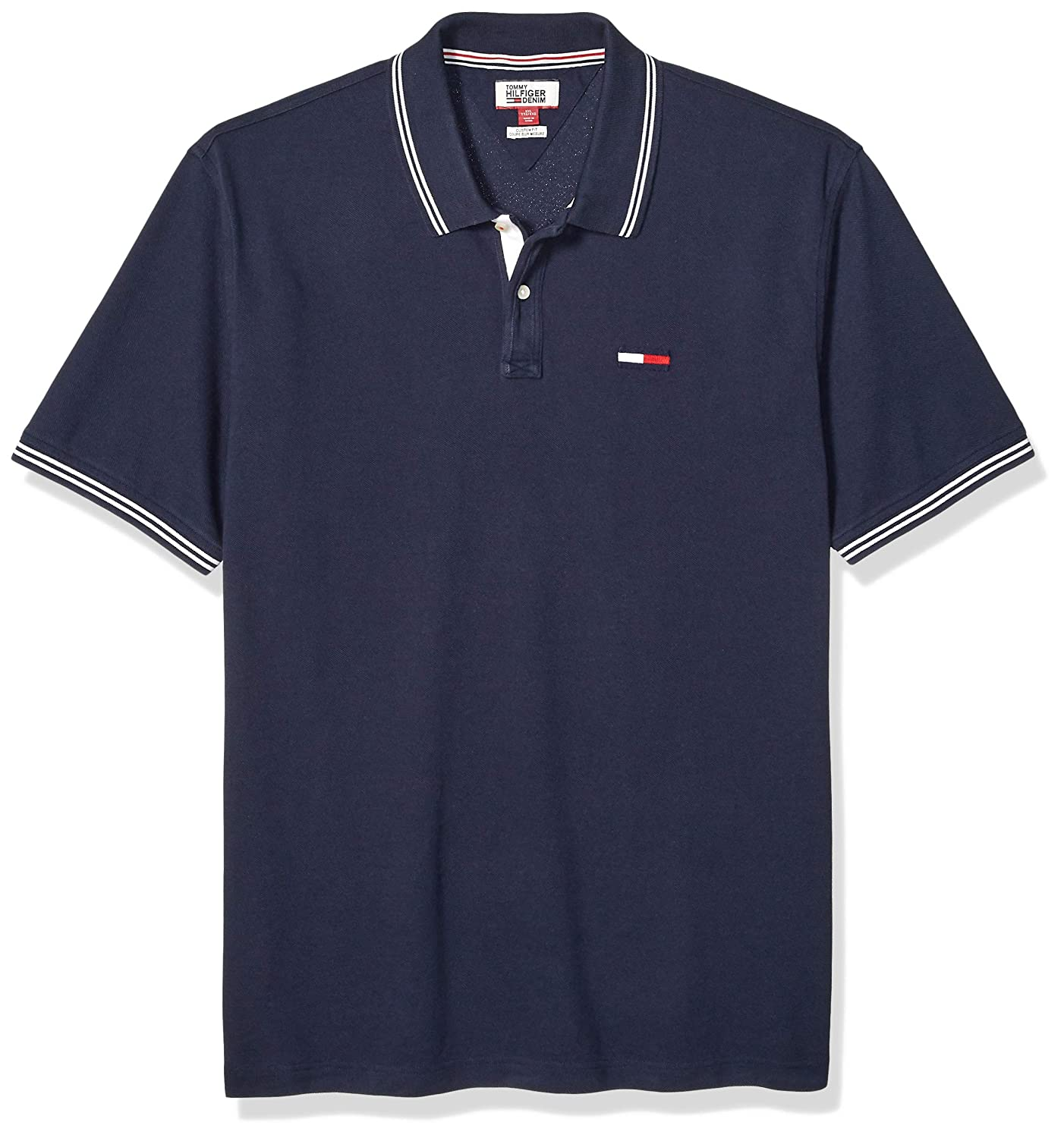 Tommy Hilfiger Mens Big  THD Short Sleeve Polo Shirt