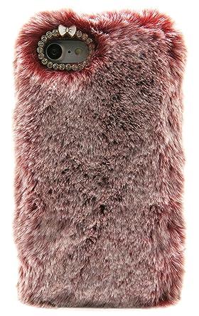 faux fur iphone 8 case