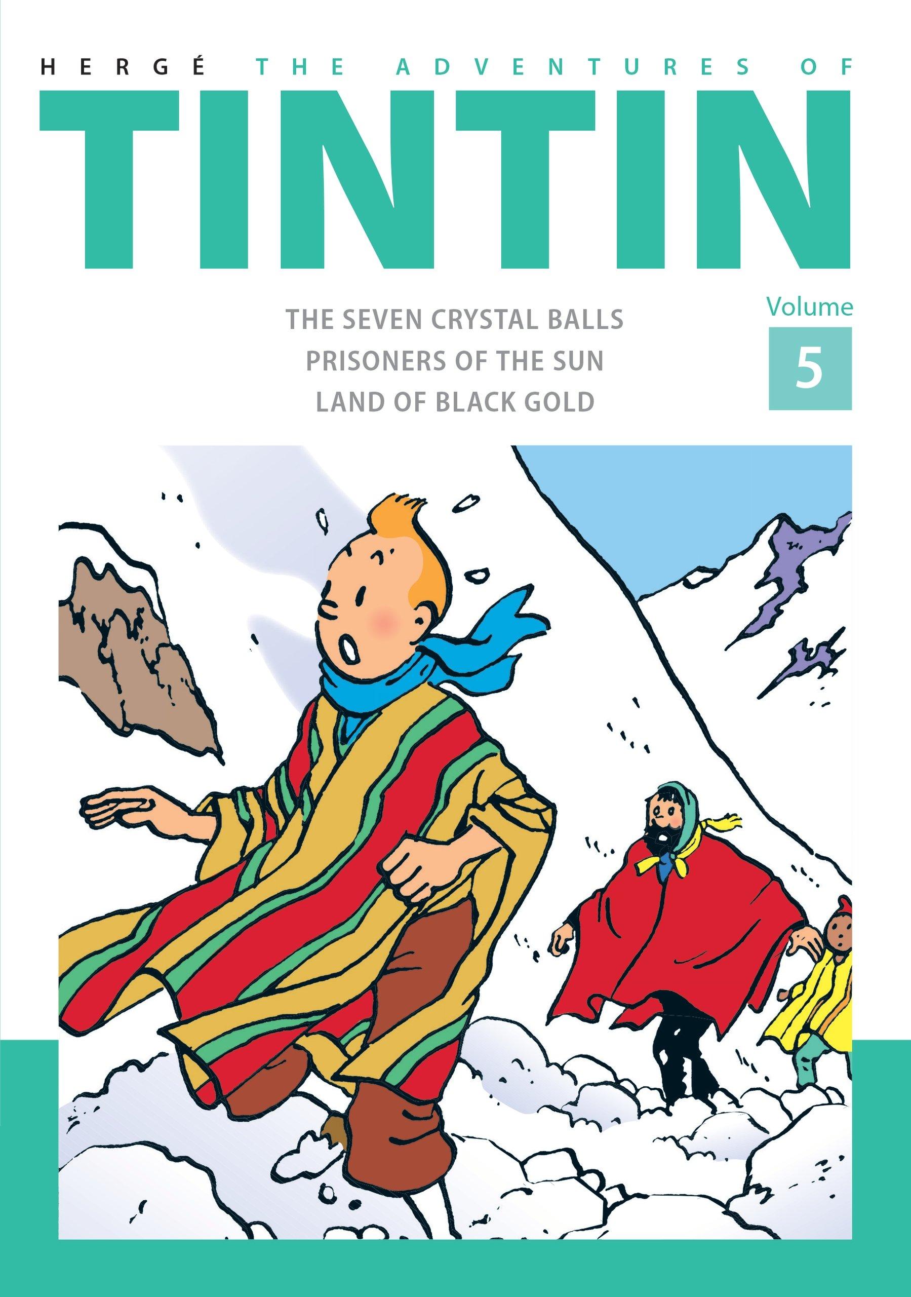 Download The Adventures of Tintinvolume 5 pdf
