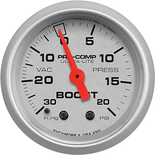 Auto Meter 4301 Ultra-Lite Mechanical Boost