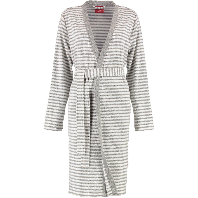 s.Oliver - Damen Bademantel mit Kimono Form in verschiedenen Farben (3712)