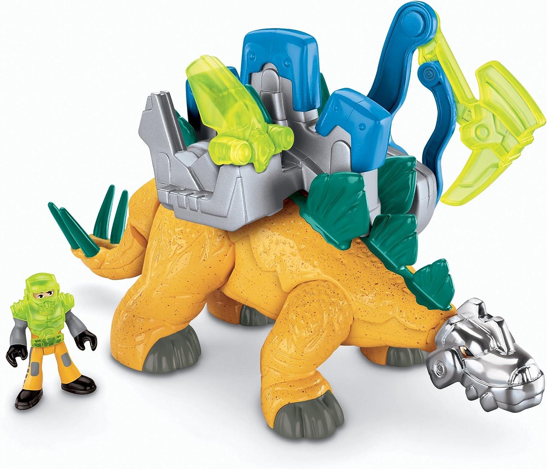 Amazon Com Fisher Price Imaginext Stegosaurus Dino Toys Games sin_anuncios_b30anuncio_b30 id=1 cuando hablamos de los dinosaurios, lo hacemos de una manera tan general que parece que hubiera menos tipos y familias de las que realmente existieron. fisher price imaginext stegosaurus dino
