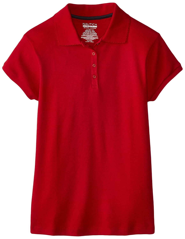 Nautica Big Girls Short-Sleeve Polo Shirt