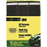 3M 909NA-3P-CC 3-3/4 by 2-5/8 by 1-Inch, Medium/Coarse Sanding Sponge, 3-Pack