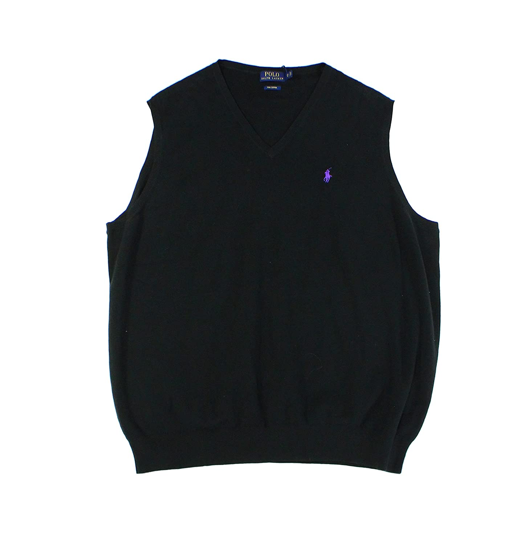 76df610717e Amazon.com  Polo Ralph Lauren Mens Big   Tall Pima Cotton Sweater Vest   Clothing