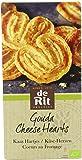 De Rit Biscuits Palmier au Fromage Bio 100 g - Lot de 10
