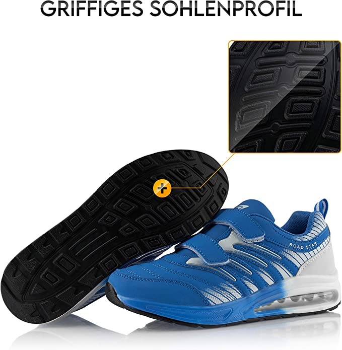 Fusskleidung/® Damen Herren Laufschuhe D/ämpfung Sportschuhe leichte Turnschuhe