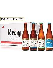 Cerveza Artesanal Rrëy Mix de Kolsch London White y Mexican IPA, Pack de 4 x 6 botellas x 355 mL