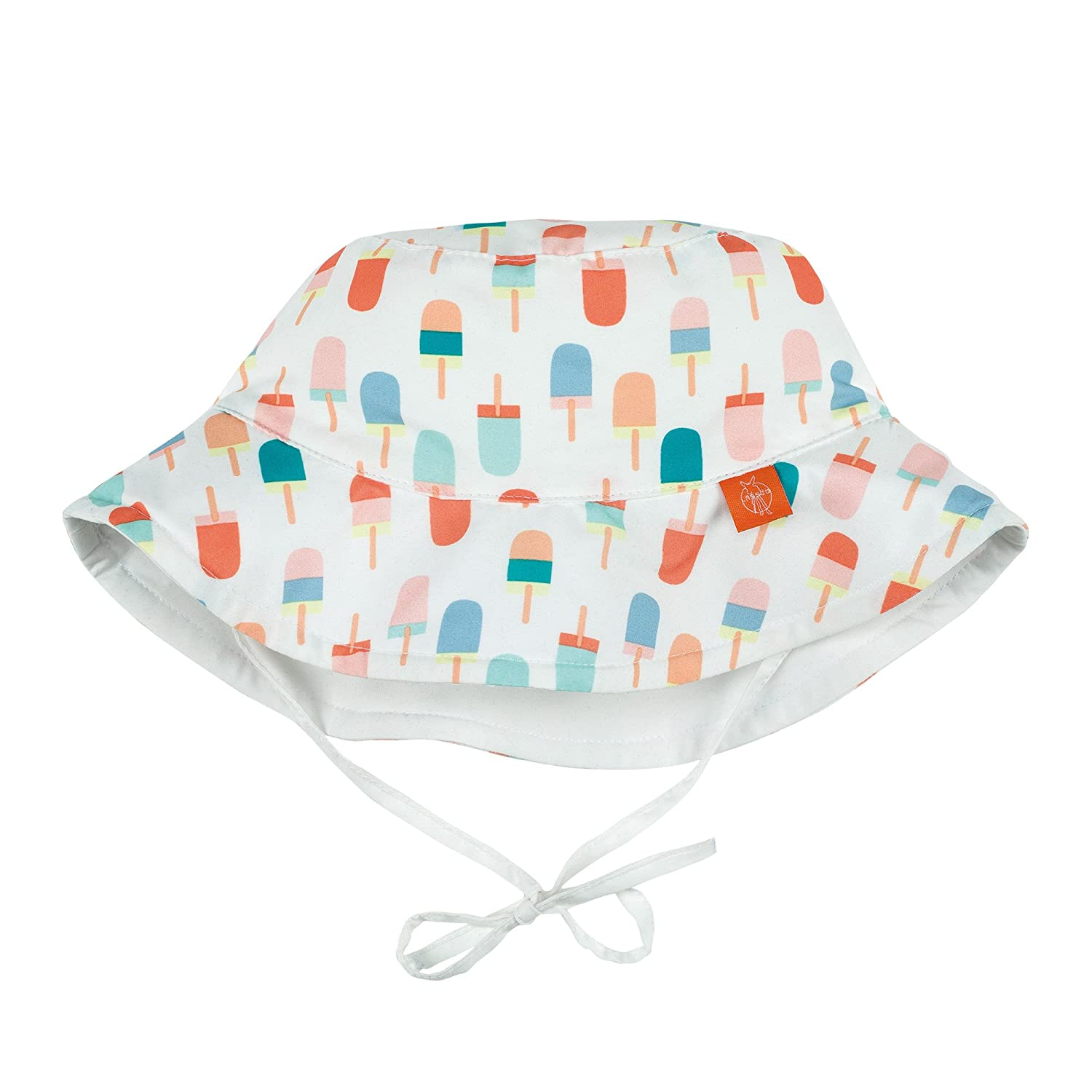 Lässig 1433005106 Baby Sun Protection Bucket Hat Sonnenhut, Ice Cream, Size: Infant 6-18 Monate, mehrfarbig Laessig GmbH 1433005106-18