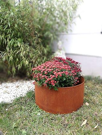 Zen Man 030785-1 - Maceta para jardín (Hecha a Mano, 40 x 40 x 20 cm): Amazon.es: Jardín