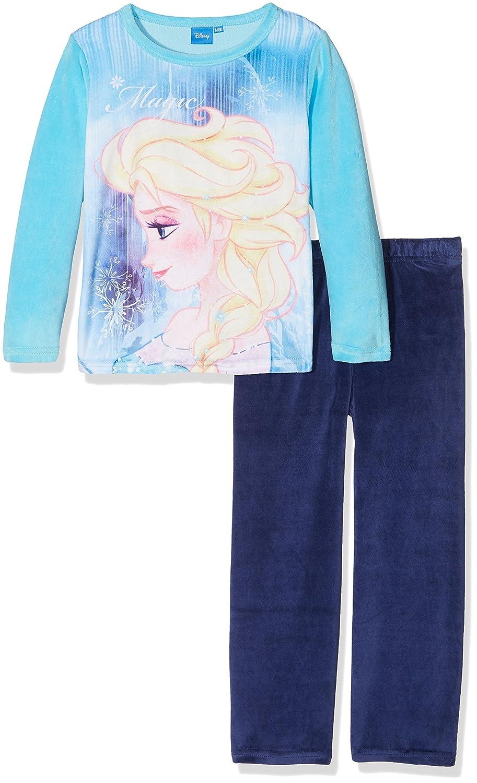 Disney Long Pajama, Pigiama Bambina Frozen FZWR47402
