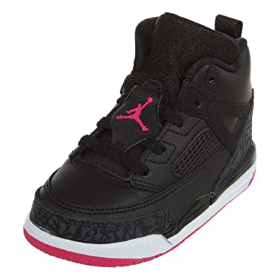 c97ebc552fff Amazon.com  Jordan Spizike GT Toddler s Running Shoe Black Deadly  Pink-Anthracite 684932-029  Shoes
