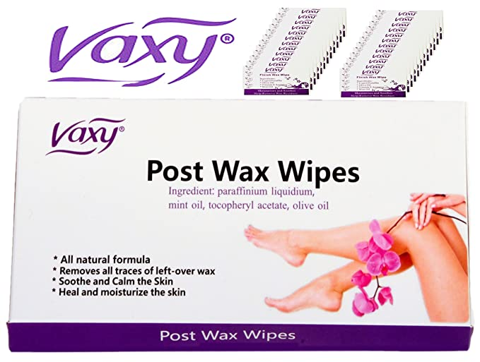 Vaxy Post Wax Wipes. After Waxing Treatment 25 Wipes: Amazon.es: Salud y cuidado personal