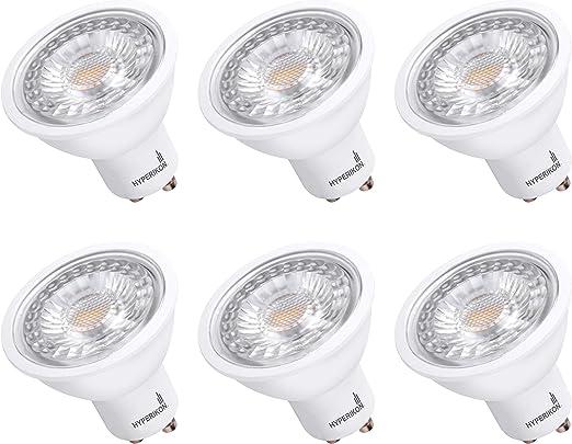 2x LED 7W = 60W GU10 MR16 Reflector Spotlights Light Bulbs Cool White 4000K