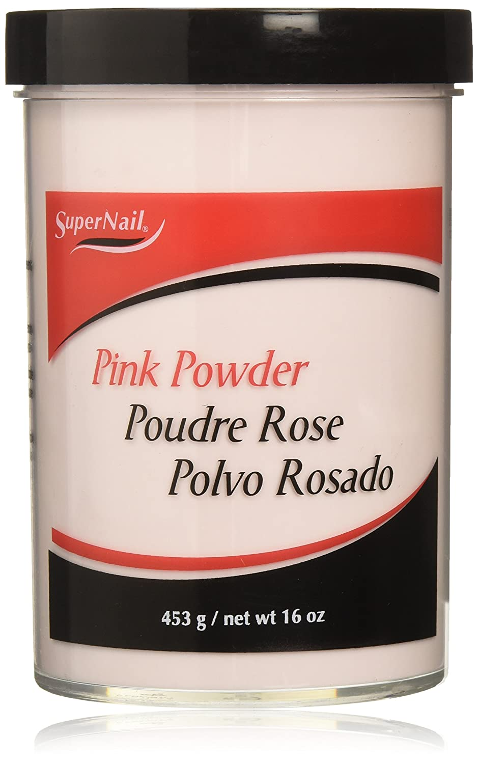SUPERNAIL Nail Powder, Pink, 2 oz. SU-51405