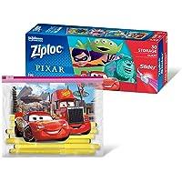 Ziploc Disney Pixar Slider Quart Storage Bag, 30 count,697676