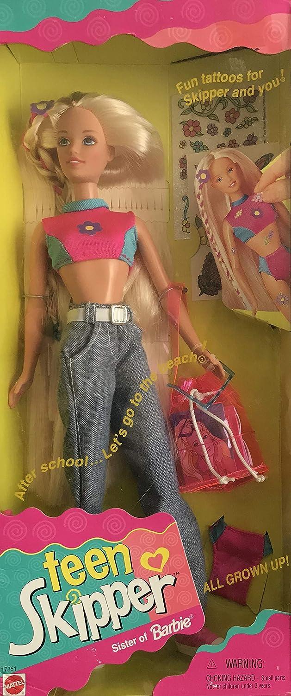 Barbie Teen Skipper Doll All Grown Up Mattel 17351