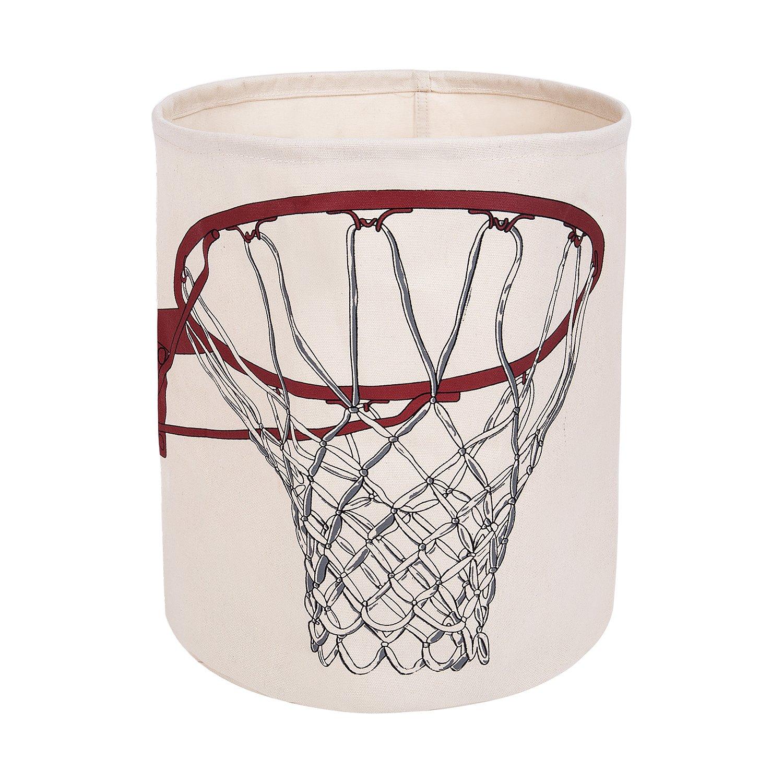 100% Cotton Canvas Storage Basket, Cotton Yarn Lining, Home