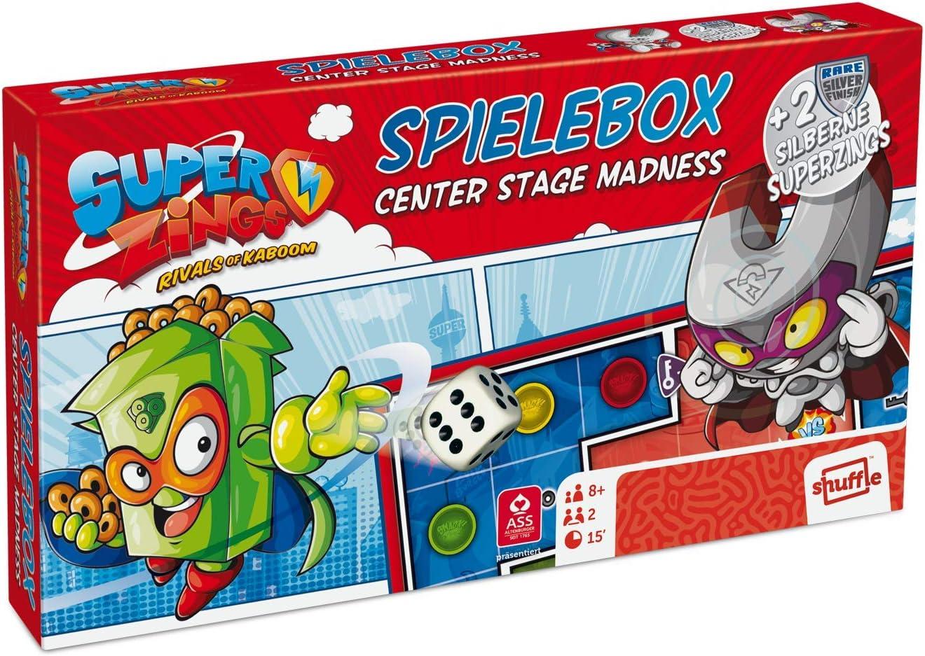 Superzings 22510002 - Caja de Juegos (Incluye 2 Figuras Plateadas): Amazon.es: Juguetes y juegos