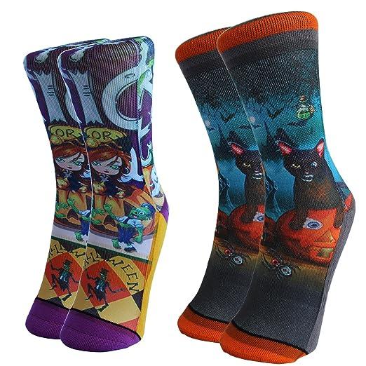 Novelty Halloween Crew Socks