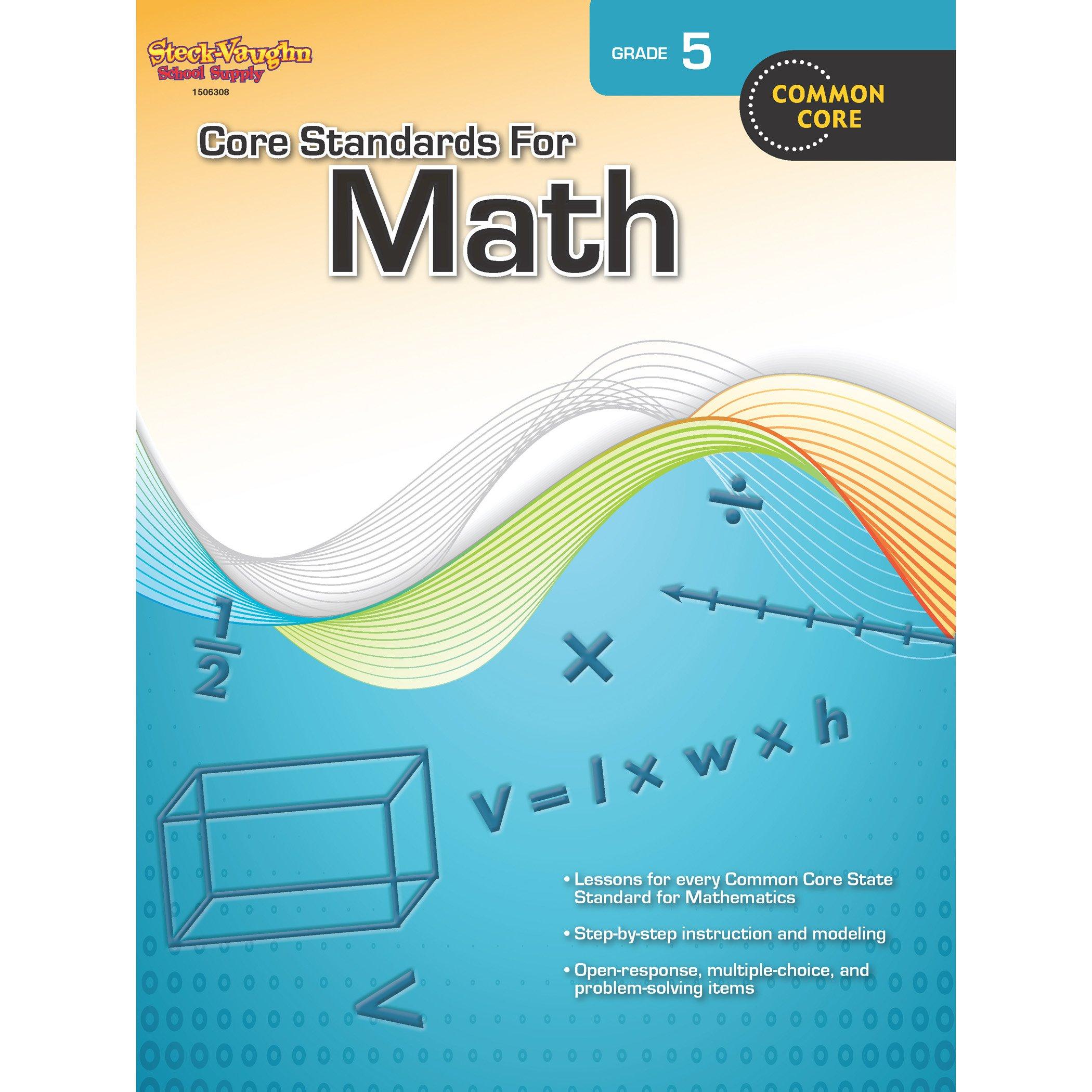 Core Standards for Math: Reproducible Grade 5