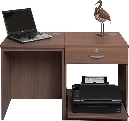 Home Mobiliario de Oficina UK pequeño Ordenador portátil Impresora ...