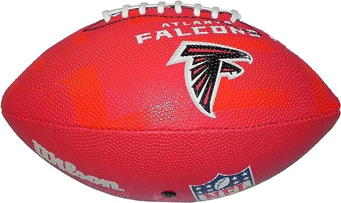 Wilson Football NFL Junior Atlanta Falcons Logo - Balón de fútbol ...