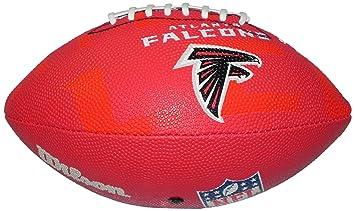 Wilson Football NFL Junior Atlanta Falcons Logo - Balón de fútbol americano (infantil, caucho), color, talla 5: Amazon.es: Deportes y aire libre