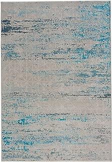 "product image for Capel Mason-Lattice Blue 5' 3"" x 7' 6"" Rectangle Machine Woven Rug"